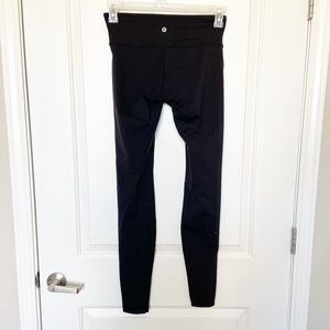 LULULEMON • Black WunderUnder Full Length Sz 6